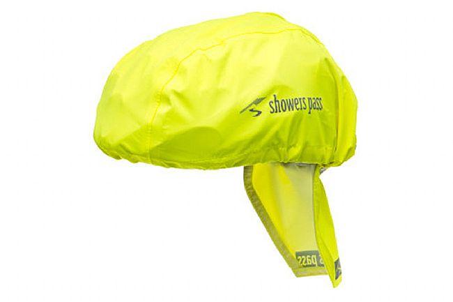 Showers Pass Helmet Cover Neon Yellow