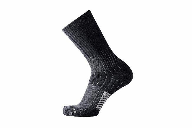 Showers Pass Tempo Crew Socks Black