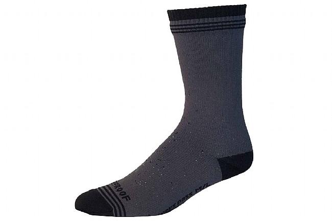 Showers Pass Crosspoint Waterproof Wool Crew Socks Grey/Black