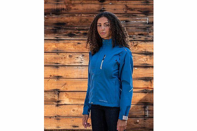 Showers Pass Womens Transit Jacket CC Alps Blue