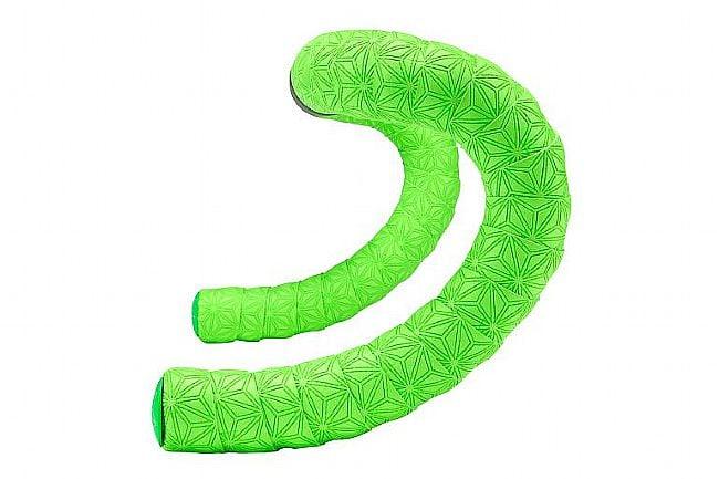 Supacaz Super Sticky Kush Bar Tape - Single Color True Neon Green