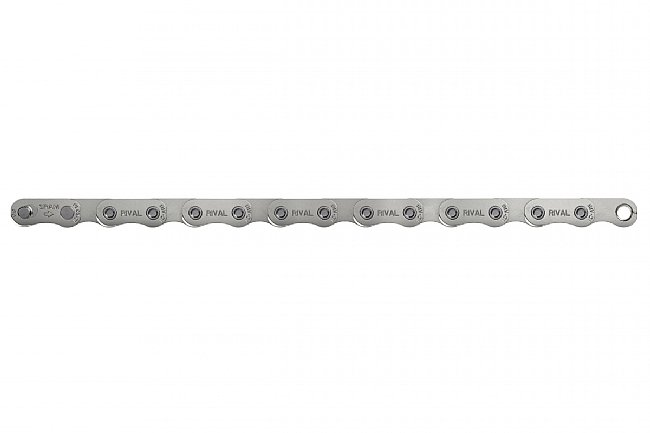 SRAM Rival Flattop Chain w/PowerLock 12-Speed SRAM Rival D1 Flattop Chain w/PowerLock 12-Speed