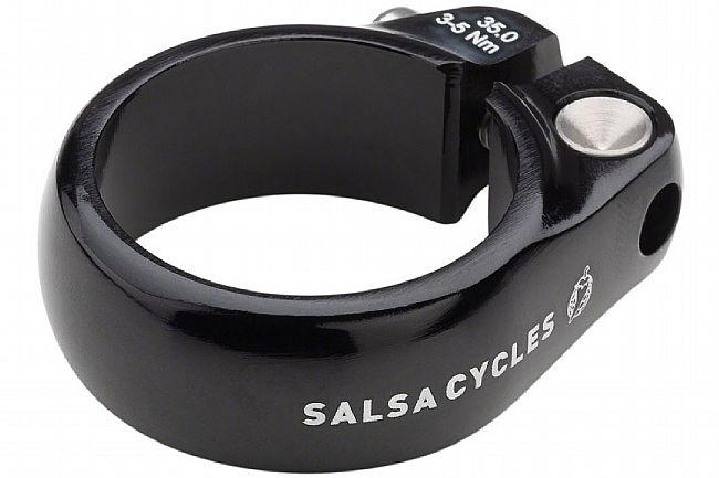 Salsa Lip-Lock Seatpost Collar Black