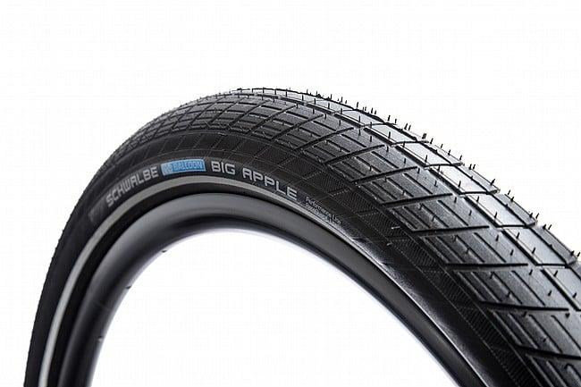 Schwalbe Big Apple 29 Inch Performance Line Tire 29 x 2.0 - Black/Reflective