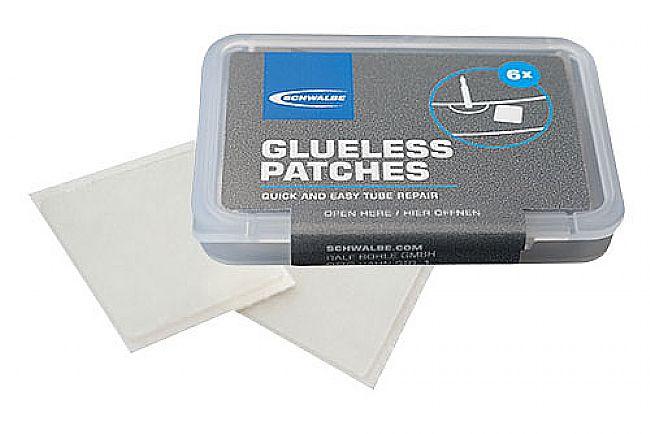 Schwalbe Glueless Patch Kit (6ea) Schwalbe Glueless Patch Kit (6ea)