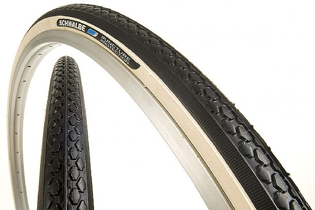 Schwalbe HS159 Puncture Protection 27 x 1 1/4 Tire 27 x 1 1/4 - Whitewall