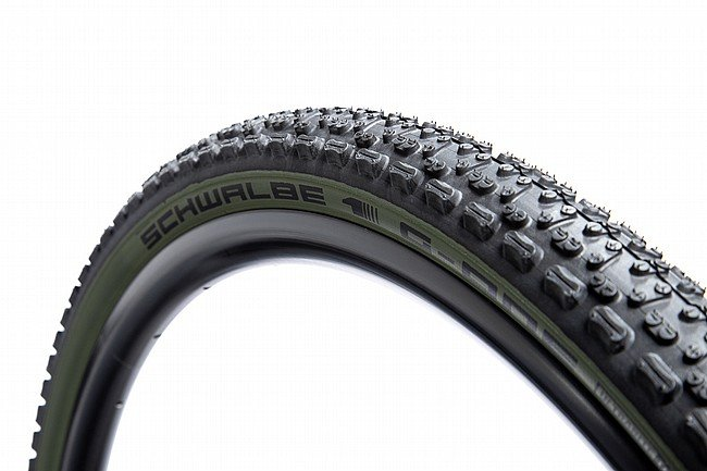 Schwalbe G-One Ultrabite Limited Edition Gravel Tire 700 x 38mm - Olive Green
