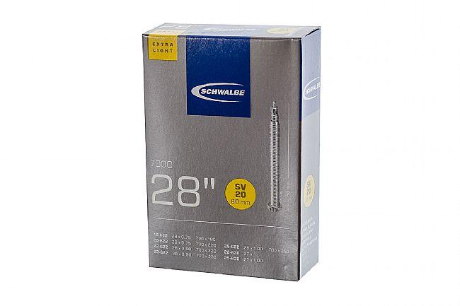 Schwalbe Extra Lite 700c Road Tube 700 X 18/25mm - 80mm presta