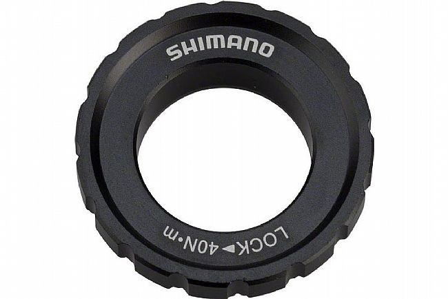 Shimano M8010 Centerlock Lockring for 12/15/20mm Axles Shimano M8010 Centerlock Lockring for 12/15/20mm Axles