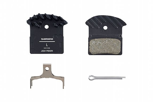 Shimano J03A Resin Pad with Cooling Fins Shimano J03A Resin Pad with Cooling Fins