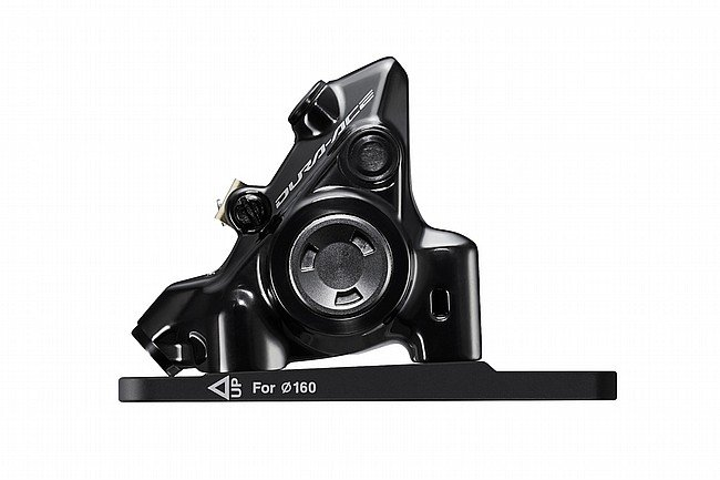 Shimano Dura-Ace BR-R9270 Disc Brake Caliper Front - Flat Mount W/Bracket for 140/160mm