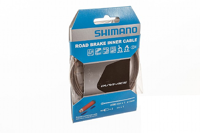 Shimano Road Polymer Coated Inner Brake Cable Shimano Polymer Coated Inner Brake Cable