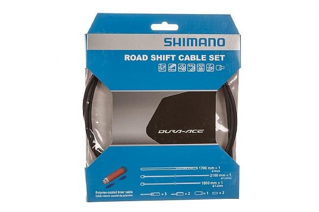 Shimano Polymer Coated Shift Cable Set Black