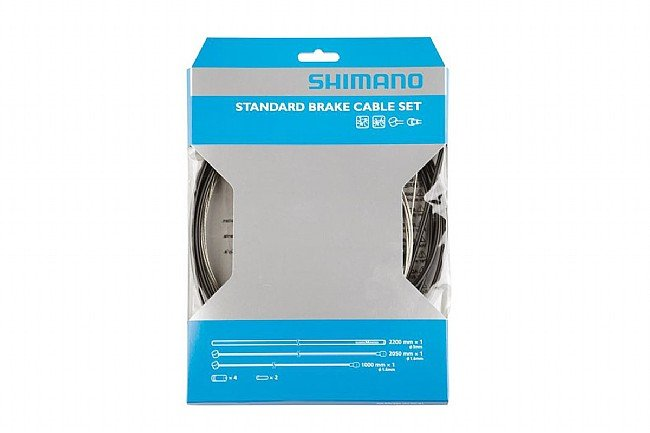 Shimano Standard Brake Cable Set Shimano Standard Brake Cable Set