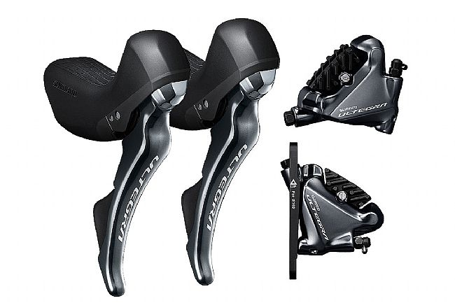 Shimano Ultegra ST-R8020 Shifters and Disc Brake Calipers Left/Front