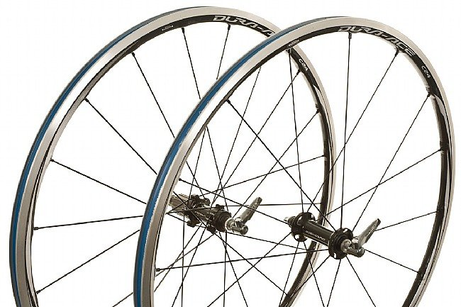 65becc61550 Shimano Dura-Ace WH-9000-C24-CL Clincher Wheelset at ...