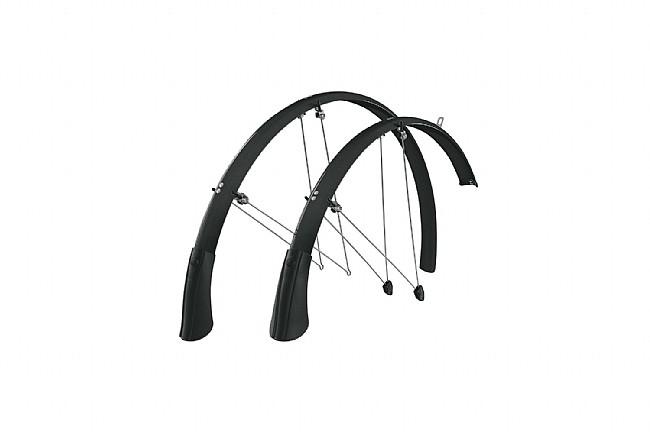 SKS Chromoplastic Longboard Fenders P35 Black (700c x 20-28)