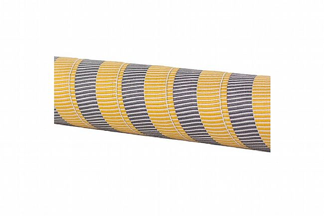 Serfas Woven Handlebar Tape Gold & Grey Stripe
