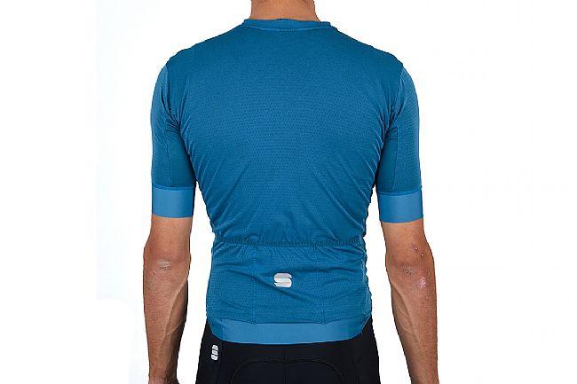 Sportful Mens Monocrom Jersey Blue Sea