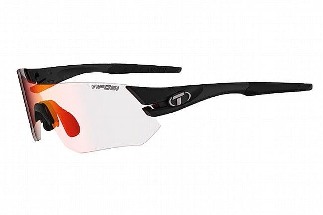Tifosi Tsali Sunglasses Matte Black - Clarion Red Fototec