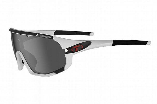 Tifosi Sledge Sunglasses Matte White - Smoke/AC Red/Clear
