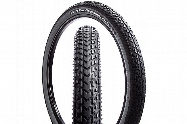 Surly ExtraTerrestrial 27.5 Inch Adventure Tire 27.5 x 2.5 - Slate Grey
