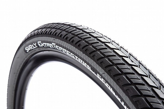 "Surly ExtraTerrestrial 26"" Adventure Tire 26 x 46mm - Black/Gray"