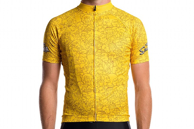 State Bicycle Co. The Simpsons Springfield Character Wrap Jersey at ... e85325627
