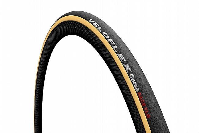 Veloflex Corsa RACE TLR 700c Road Tire 700 x 25mm - Gum Wall
