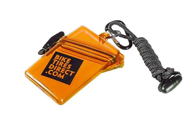 BikeTiresDirect Waterproof Sport Case Translucent Orange