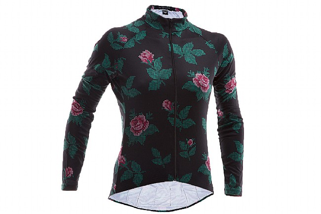 6ba12a8f4 Twin Six Womens Speedy Rose Canyon Long Sleeve Jersey at BikeTiresDirect