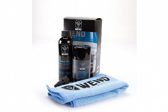 WEND Waxworks Wax-off/Wax-on Cleaner and Chain Wax Kit WEND Waxworks Wax-off/Wax-on Cleaner and Chain Wax Kit