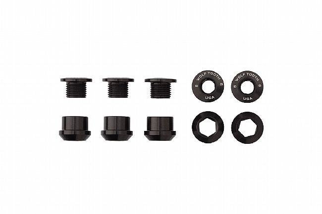 Wolf Tooth Components Set of 5 Alloy Chainring Bolts for 1x Drivetrains