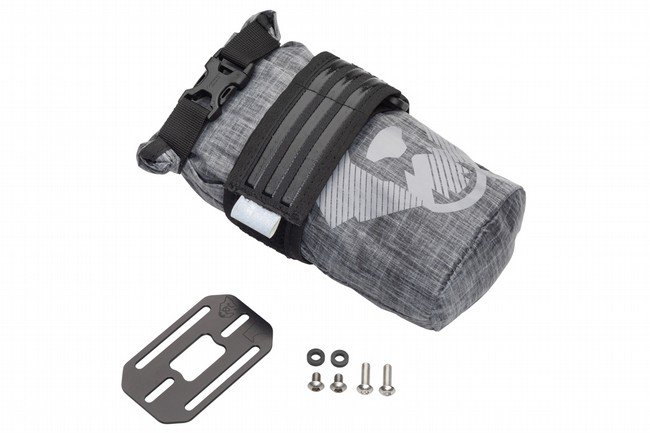 Wolf Tooth Components B-RAD TekLite Roll-Top Bag 0.6L Bag + Strap/Mounting Plate