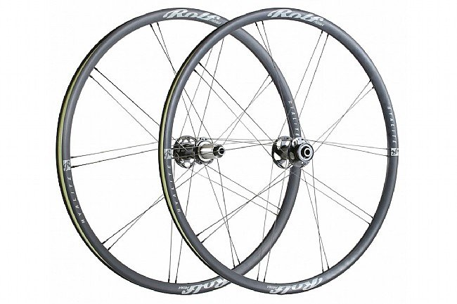 Rolf Prima Hyalite ES Alloy Gravel Disc Brake Wheelset Front CL Disc - 12mm Thru Axle