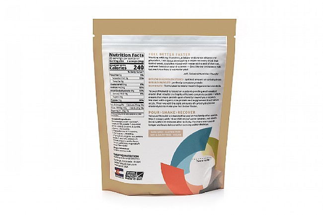 Tailwind Nutrition Rebuild Recovery (15 Servings) Vanilla Nutrition Facts