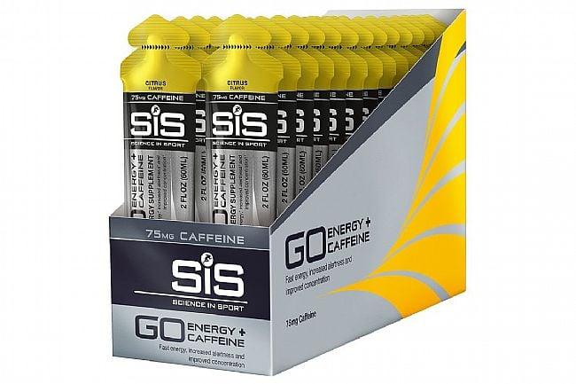 Science In Sport GO Energy + Caffeine Gels (30 pack) Citrus