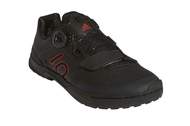 Five Ten Mens Kestrel Pro BOA Mountain Bike Shoe Blac/Red/Grey Six
