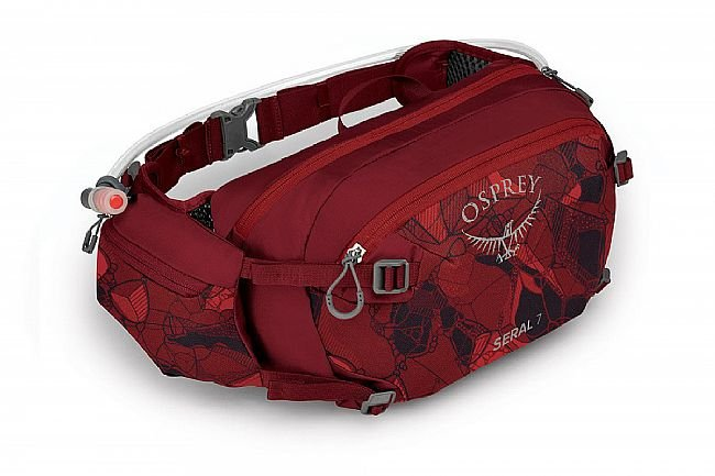 Osprey Seral 7 Lumbar Hydration Pack Claret Red