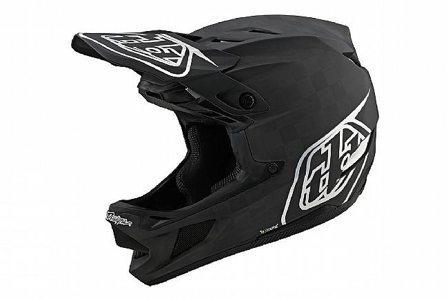 Troy Lee Designs D4 Carbon MTB Helmet Stealth Black/Silver