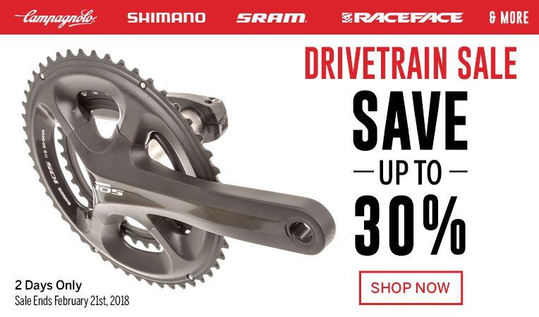Drivetrain Sale - Save up to 20% - Sale Ends February 21st, 2018