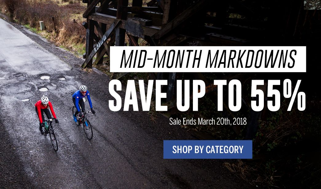 Mid-Month Markdowns - Save up to 55% - Sale Ends March 20, 2018