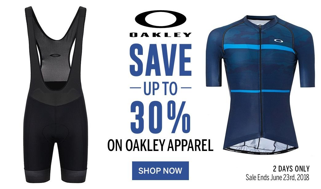 2 Days Only - Save up to 30 on Oakley Apparel - Sale Ends June 23rd, 2018