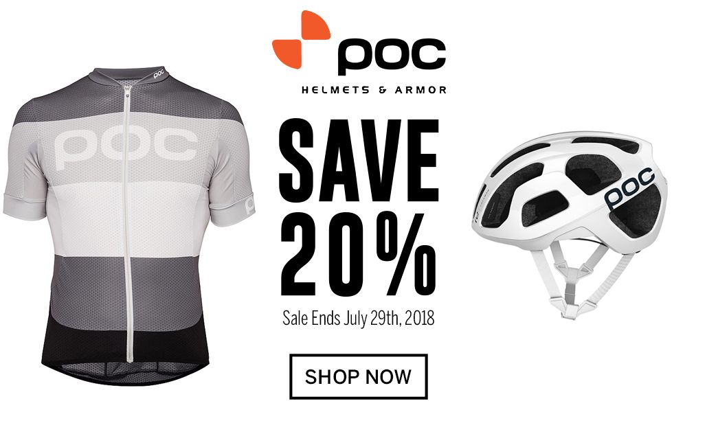 Save 20 on POC - Sale Ends July 29th, 2018