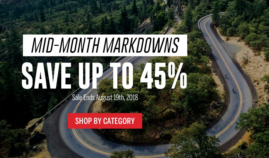 Mid-Month Markdowns - Save up to 45