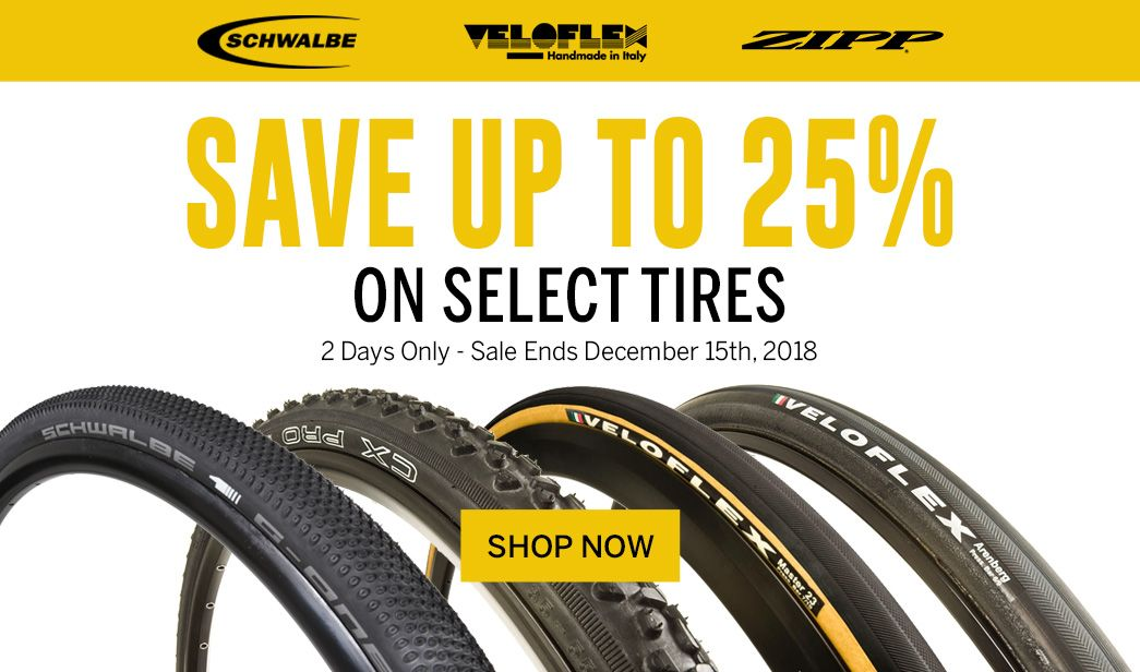 Save up to 25 on Select Tires