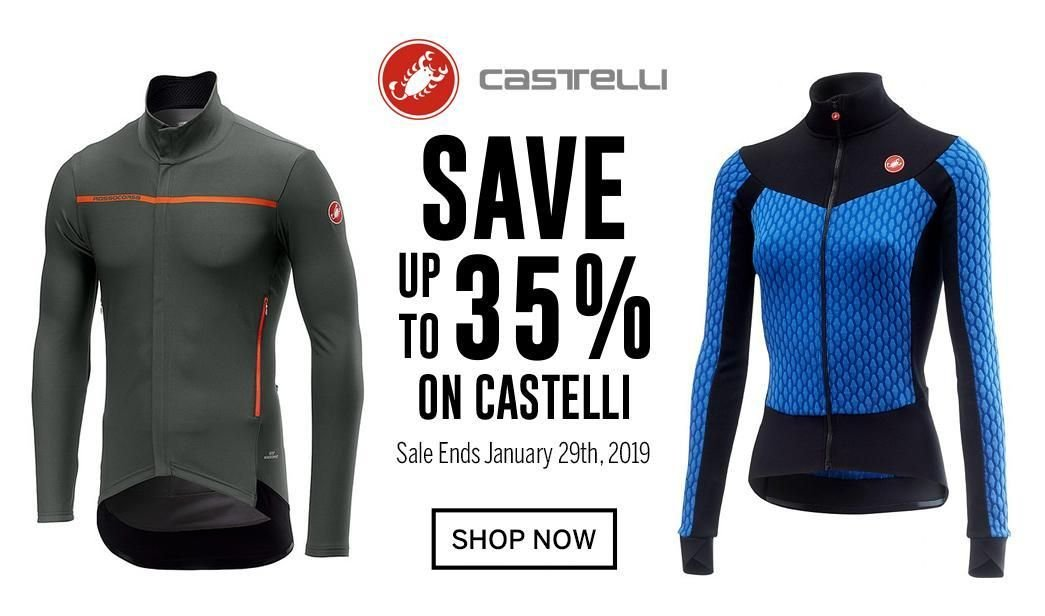 Save up to 35 on Castelli