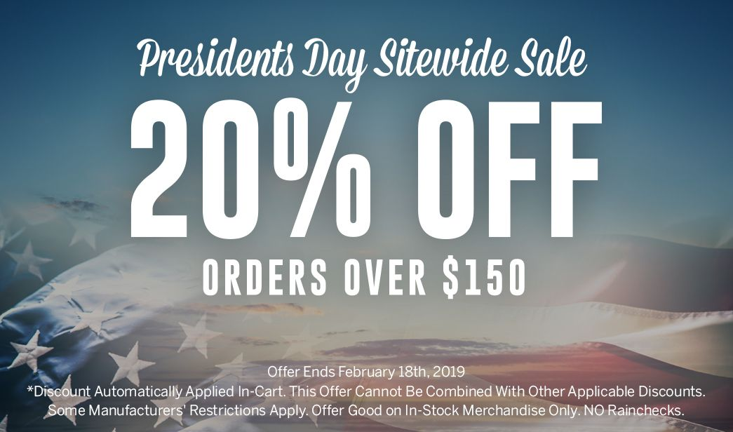 Presidents Day Sitewide Sale