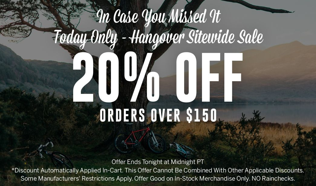 Hangover Sitewide Sale - 20 Off Orders Over $150