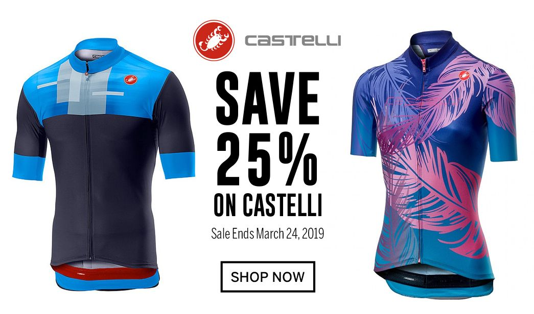 Save 25 on Castelli